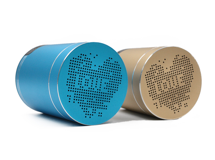 Loudest Outdoor Sound Cylinder Center Channel Cylinder-shaped Portable Aluminum Innovation Bluetooth Mini Speaker